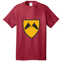 ADULT Shirt Short Sleeve, COLORGUARD FLAGS_Full Color
