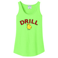 LADIES, Cotton Tank Top, DRILL MOM_Full Color