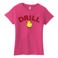 LADIES, Short Sleeve T Shirt, DRILL MOM_Full Color