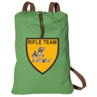 Cotton CInch Bag, RIFLE TEAM SOLDIERS